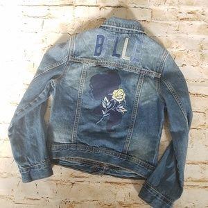 GAP Disney Beauty & The Beast Belle Denim Jacket